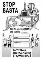 ¡Denuncia los acaparamientos de tierras!