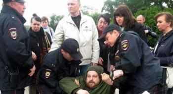 Arrests of dormitory tenants in Moscow