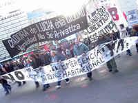Basta de Desalojos - Por Vivienda Social, BUENOS AIRES, abril 2010