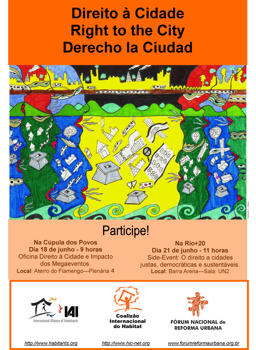 Direito a Cidade na Cupula dos Povos e Rio + 20 (18 06 2012)-1