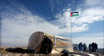 Eviction of Bab Al Shams exposes Israel as a lawless state