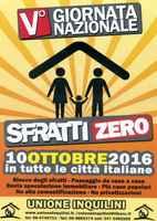 Italia, 10 ottobre 2016: V Giornata Nazionale Sfratti Zero