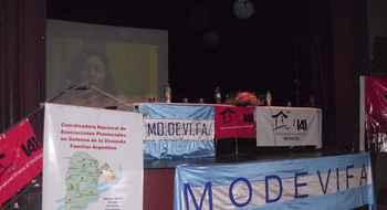 Mendoza, Jornadas Mundiales Cero Desalojos por el Derecho a  la Vivienda y al Hábitat
