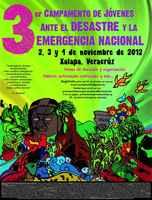 México, Tercer Campamento de Jóvenes ante el Desastre y la Emergencia Nacional
