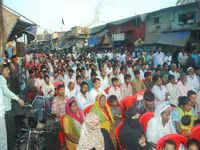 Mumbai, Dharavi, PROUD, 31 year of struggles and results, INDIA, febrero 2011