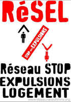 Paris, Rassemblement contre les expulsions de logement, PARIS, june 2010