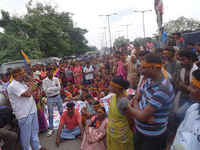 Patna, Bihar, India: People's power…People's struggle to face evictions because smart city
