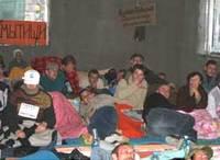 Co-investisseurs en grève de la faim à Moscou en 2007