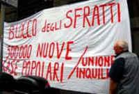 Resistenza agli sfratti,ITALIA,ottobre 2009
