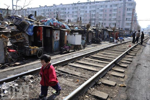 Shanty Towns in China