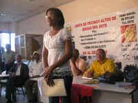 Madelin Florian Presidenta de la Junta de Vecinos de Altos de Brisas del Este