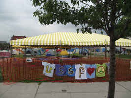 Detroit, Tent City at USSF