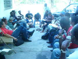 Constitución de la Coordinación General de organizaciones Haitianas ante la situación post terremoto.