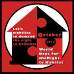 NY, Today, Oct, 19, in Solidarity with the Shackdwellers Movement!