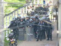 Con despliegue de cerca de 300 policías se pretendió realizar desalojo en Bogotá D.C.